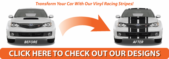 Rear Window Graphics Vinyl Racing Stripes Backgraphics Com